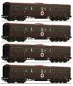 Roco 74093 FS Personenwagen-Set 4-tlg. Ep.3