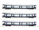 Roco 74097 DB Autotransportwagen-Set 3-tlg. Christ