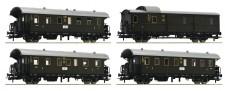 Roco 74102 DRG Personenwagen-Set 4-tlg. Ep.2