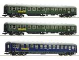 Roco 74127 DB Scharnow Personenwagen-Set 3-tlg Ep.3
