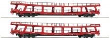 Roco 74128 ÖBB Autotransportwagen-Set 2-tlg Ep.6