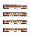 Roco 74130 ÖBB Personenwagen-Set 4-tlg. Ep.4