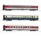 Roco 74134 DB Personenwagen-Set 3-tlg. Ep.4./5