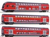Roco 74146 DBAG Doppelstockwagen-Set 3-tlg. Ep.6