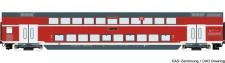 Roco 74154 DBAG Doppelstockwagen 4-achs Ep.6 AC
