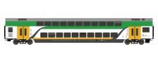 Roco 74161 Koleje Doppelstockwagen 2.Kl. Ep.6