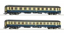 Roco 74182 DB Personenwagen-Set 2-tlg. D 229 Ep.4