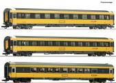 Roco 74183 Regiojet Personenwagen-Set 3-tlg Ep.6