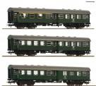 Roco 74184 DB Personenwagen-Set 3-tlg. Ep.4