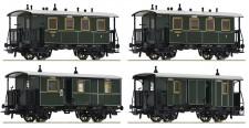 Roco 74187 KBayStsBPersonenwagen-Set 4-tlg Ep.1