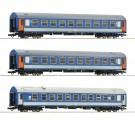 Roco 74188 MAV Personenwagen-Set 3-tlg Ep.4/5