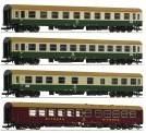 Roco 74189 DR Personenwagen-Set 4-tlg Ep.4/5