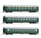 Roco 74190 CSD Personenwagen-Set 3-tlg Ep.4/5