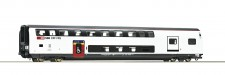 Roco 74494 SBB Doppelstockwagen 1.Kl./Gep. 4-achs.