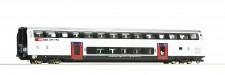 Roco 74495 SBB Doppelstockwagen 2.Kl. 4-achs. Ep.6