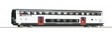 Roco 74496 SBB Doppelstockwagen 2.Kl. 4-achs. Ep.6