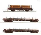 Roco 76053 ÖBB Stahlzug 3-tlg Ep.5