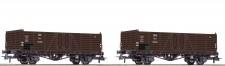 Roco 76106 ÖBB offene Güterwagen-Set 2-tlg Ep.3