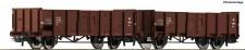 Roco 76125 DSB offene Güterwagen-Set 2-tlg Ep.4