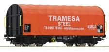 Roco 76439 Tramesa Schiebeplanenwagen Ep.6