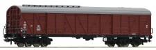 Roco 76554 PKP gedeckter Güterwagen 4-achs. Ep.3