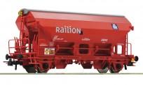Roco 76579 DB-AG Schwenkdachw. Tds rot