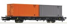 Roco 76787 DR Containertragwagen 2-achs. Ep.4/5