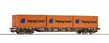 Roco 76930 ÖBB Containertragwagen Hapag Lloyd Ep.6