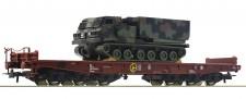 Roco 76954 FS Schwerlastwagen mit Panzer Ep.5/6