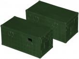 Roco miniTank 05158 Fernmeldekabine Typ 2 BW