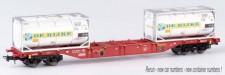 B-models 54104 Touax Containerwagen 4-achs Ep.6