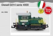 Pirata 2034 Trenord Diesellok Reihe D214 Ep.5/6