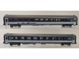 Pirata PI6095 PKP Nachtzugwagen-Set 2-tlg Ep.5/6