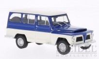 White Box WB092 Willys Rural blau/weiß 1968