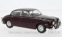 White Box WB124029 Jaguar MK II dunkelrot 1960