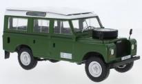 White Box WB124033 Land Rover Series III 109 grün 1980