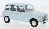 White Box WB124041 Renault R4L hellblau