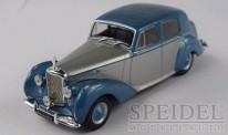 White Box WB185 Bentley MK VI silber/blau-met. 1950