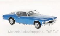 White Box WB199 Buick Riviera Coupe blau/weiß