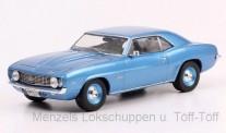 White Box WB287 Chevrolet Camaro blau 1969