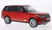 Welly WEL11006MB-rt Range Rover rot