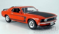 Welly WEL12516rt Ford Mustang Boss rot/matt-schwarz