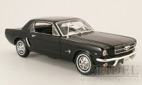 Welly WEL12519H-sw Ford Mustang Coupe schwarz