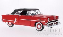 Welly WEL12525H-rt Ford Crestline Sunliner rot 1953