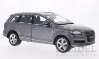 Welly WEL18032m-gr Audi Q7 silbergrau