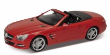 Welly WEL18046C-rt MB SL500 (R231) Cabrio rot