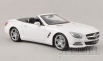 Welly WEL18046C-we MB SL500 (R231) Cabrio weiß