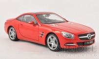 Welly WEL18046H-rt MB SL500 (R231) Cabrio rot