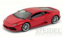 Welly WEL18049Wrt Lamborghini Huracan LP610-4 rot