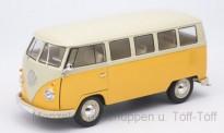Welly WEL18054Y VW T1/2 Bus gelb/creme